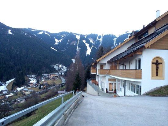 Der Sonnberg : Вид с парковки