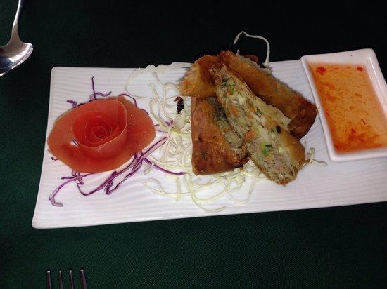 Jutamas Thai Restaurant: Spring roll