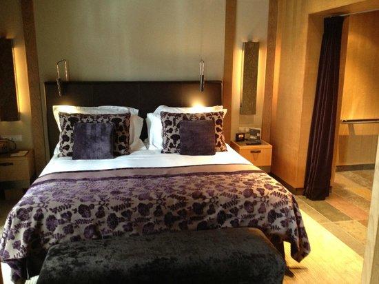 Sport Hotel Hermitage & Spa: Cama doble
