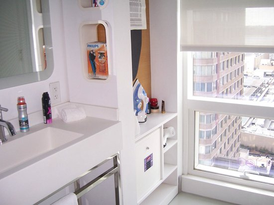 YOTEL New York at Times Square West: More storage and an iron and ironing board