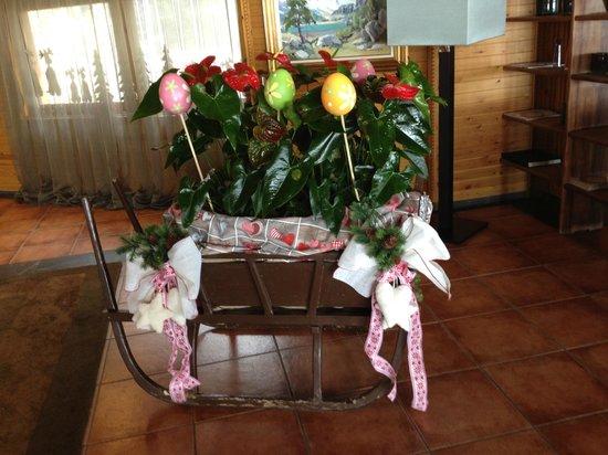 Sport Hotel Hermitage & Spa: Decoración huevos de Pascua