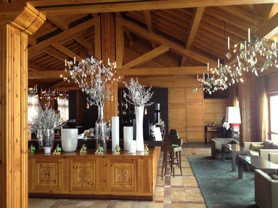 Sport Hotel Hermitage & Spa: Cafetería