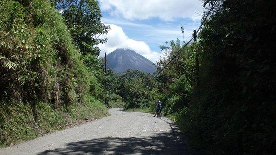 Bike Arenal: Arenal volcano
