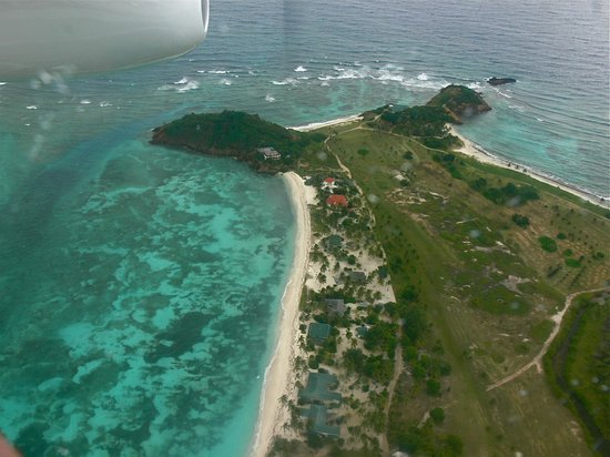 Palm Island Resort & Spa: Palm Island, aerial view