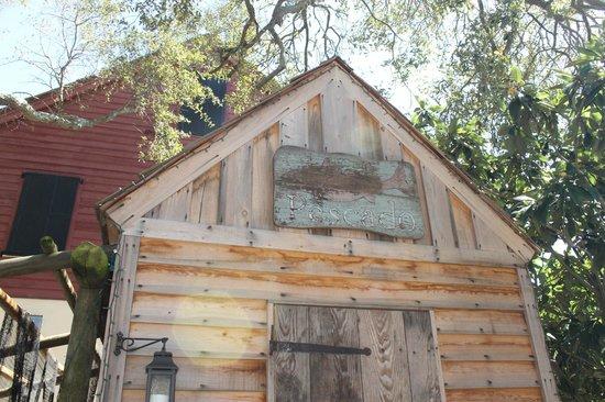 Colonial Quarter: Authentic buildings