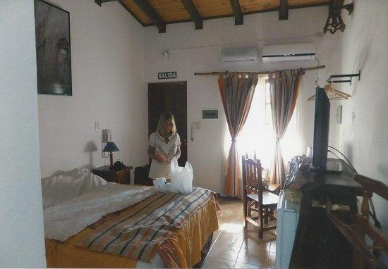 Petit Hotel Si Mi Capitan: Our room on second floor