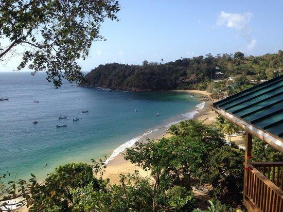 Caribbean Kitchen at Castara Retreats: View from restaurant