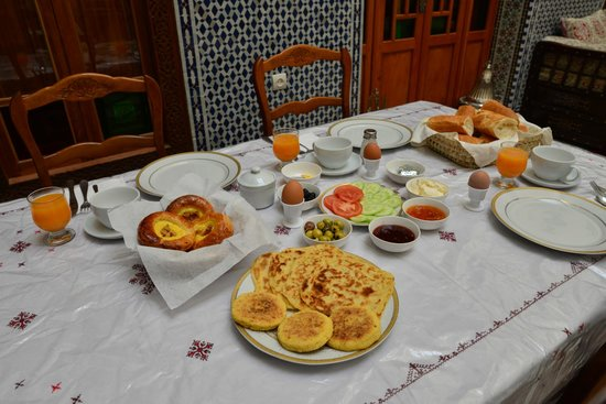 Dar Dalila : Breakfast 2nd day