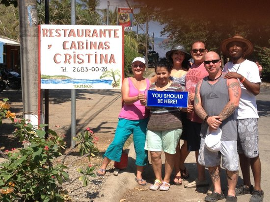 Cristina Restaurant: Best lunch in Costa Rica!!
