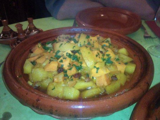 La Medina : Tajine poulet citron confits