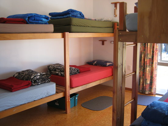 Bob and Maxine's Backpackers: Bunk beds