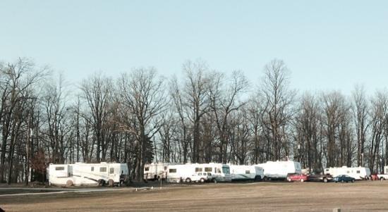 White Oak Campground: campsites