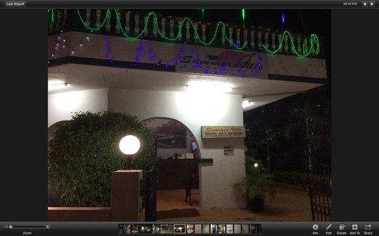 Summerville Beach Resort: Вид на отель