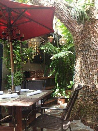 The Goblin Market: garden patio seating