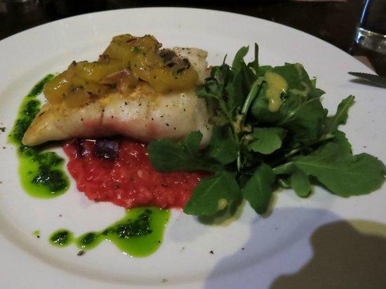 La Estaka: Hauptgericht Fich