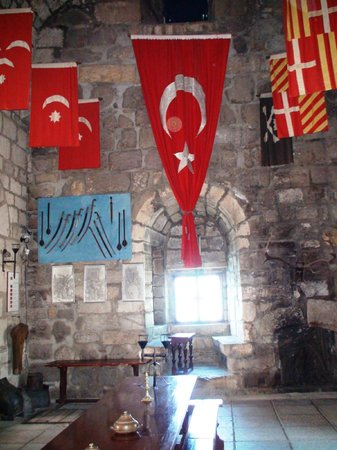 Castle of St. Peter : Interior of the English Tower