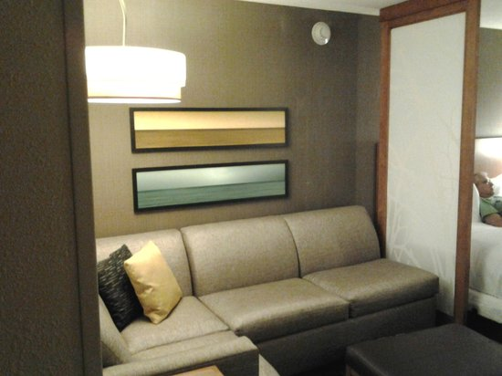 Hyatt Place Dewey Beach : Sitting Room with fold out bed