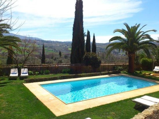 Hotel La Fuente De La Higuera: vistas al valle de Ronda
