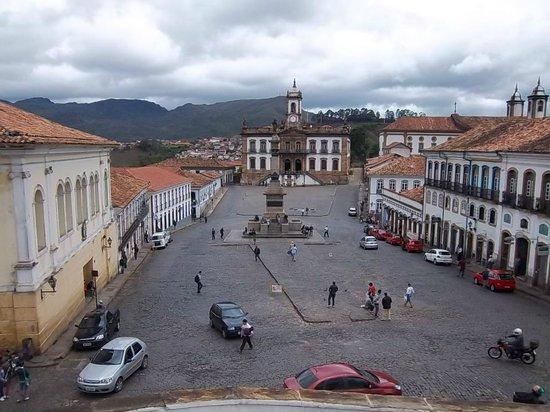 Praça Tiradentes : Plaza da Inconfidencia
