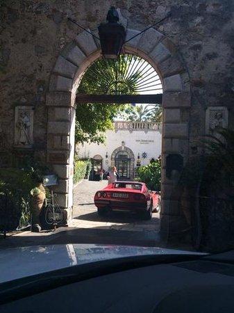 San Domenico Palace Hotel : entrance to San Domenico