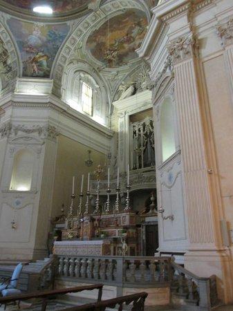 Cappella Brancacci: Interior