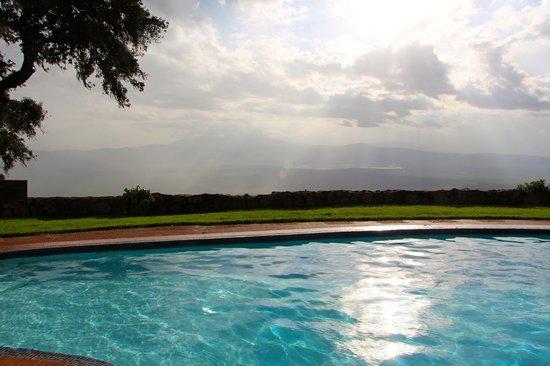 Ngorongoro Sopa Lodge: Another pool view