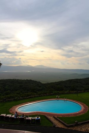 Ngorongoro Sopa Lodge: View from the property