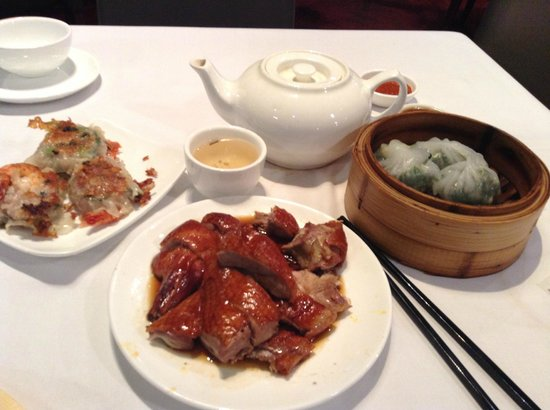 Zilver Restaurant: my yum cha lunch for $50