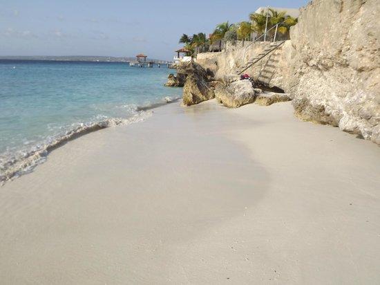 Ocean View Villas, Bonaire: beach near ocean view villas