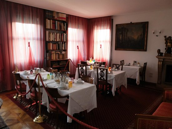 Ca' Angeli : Salle petits déjeuners