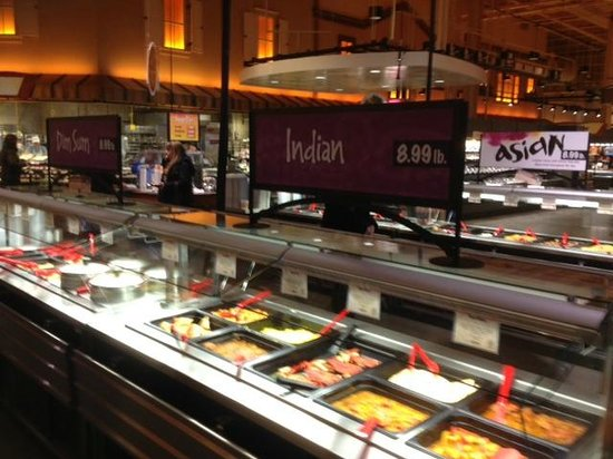 Wegmans east avenue storefront picture of wegmans for Food bar wegmans