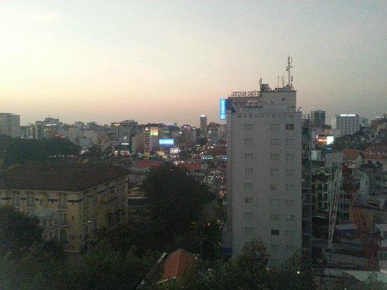 Signature Saigon Hotel : Widok z okna