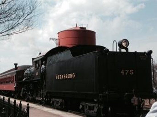 Strasburg Rail Road: train