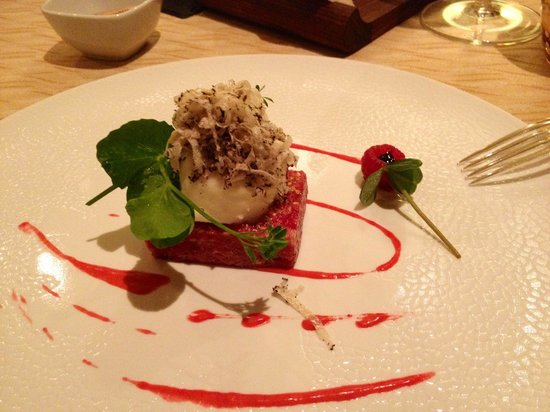 Alpenroyal Grand Hotel - Gourmet & Spa: La tartare di Wagyu