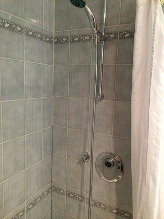 Best Western Dower House Hotel & Spa: Broken shower