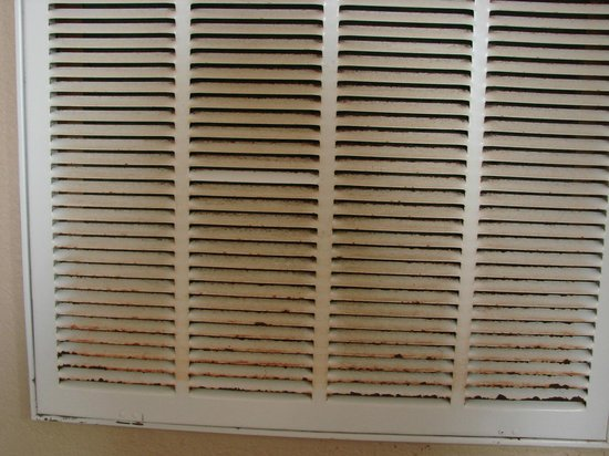 Seascape Condominium Rentals: Air intake vent in kitchen