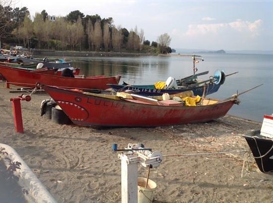 Relais del Lago: porticciolo dei pescatori Marta