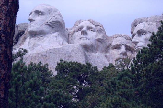 Mount Rushmore National Memorial: Teddy's green mustache