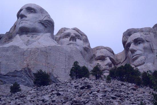 Mount Rushmore National Memorial: Taller than trees