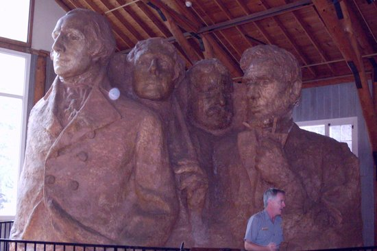 Mount Rushmore National Memorial: Park Ranger Scott Wessiner & the Prez
