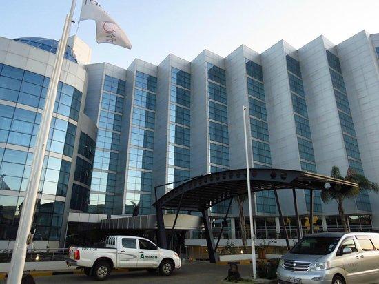 The Boma Nairobi: Big hotel building