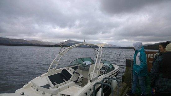 Loch Lomond Leisure Scotland: Loch Lomond at a stopover