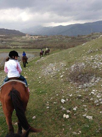 Ranch Brionna : altro momento dell'escursione