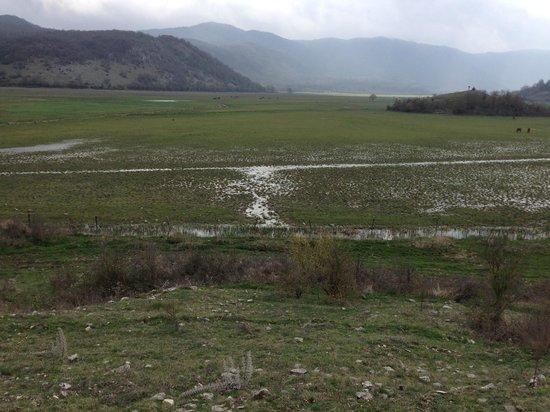 Ranch Brionna : panorama della passeggiata