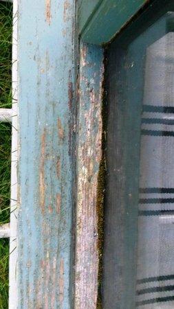 Skerryback Farm Cottages: Outside window paintwork rotten