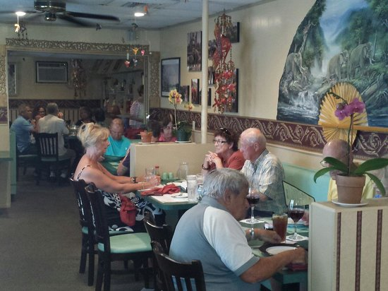 Royal Thai: A popular place...  Come early and avoid the rush and the wait.