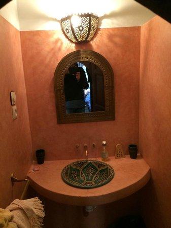Riad les Orientales: Bagno della suite