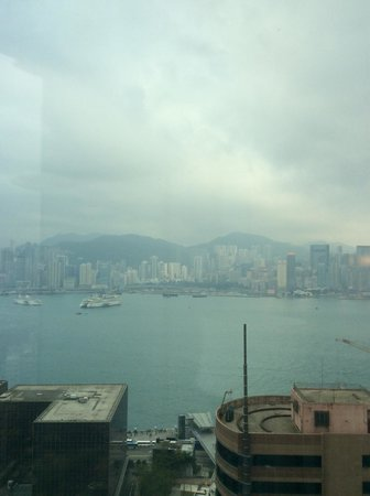 Hotel Panorama by Rhombus : Kowloon Harbor on cloudy day