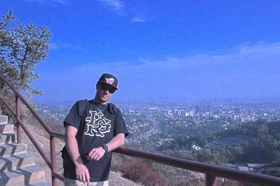 Close to Hollywood sign