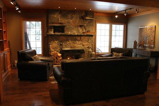 Trillium Resort and Spa: Sitting area in Lobby